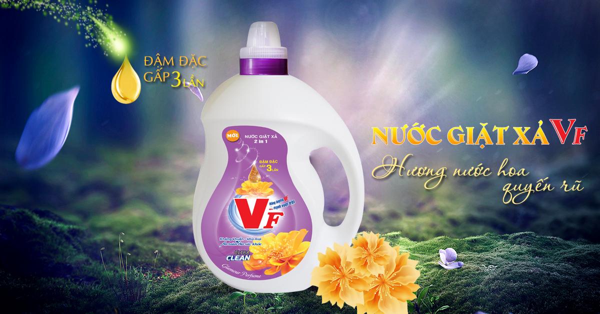 nước giặt VF hương nước hoa